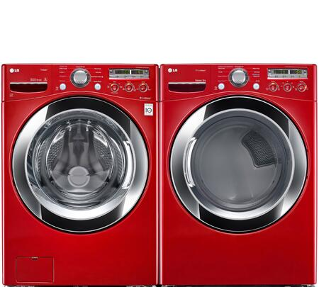 LG WM3250HRAPAIR2 Washer and Dryer Combos