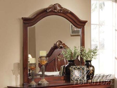 Acme Furniture 11864D Classique Series Rectangular Portrait Arched Mirror