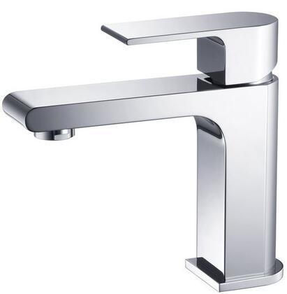 Fresca FFT9151 Allaro Single Hole Mount Bathroom Vanity Faucet