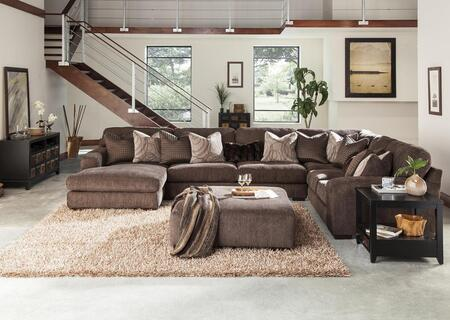 """Jackson Furniture Serena Collection 2276-75-30-59-42- 166"""" 4-Piece Sectional with Left Arm Facing Chaise, Corner Section, Armless Sofa and Right Arm Facing Loveseat in"""