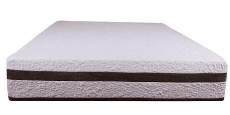 "Enso NOVA Nova 12"" Memory Foam Mattress with Poly Knit Removable Cover, Premium Memory Foam and High Density Polyurethane Base Foam"
