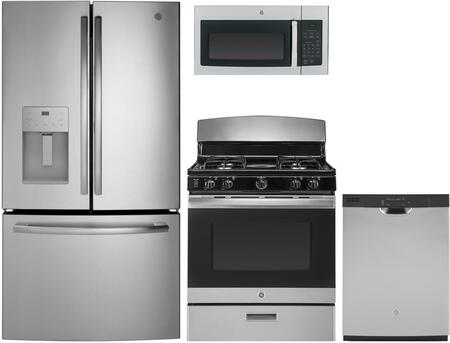 GE 1086302 4 piece Stainless Steel Kitchen Appliances Package