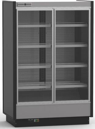 Hydra-Kool KGVMRxR High Volume Grab-N-Go Case with Doors, cu. ft. Capacity, Cooling BTU, in Black