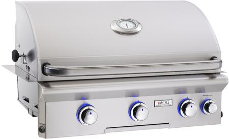 American Outdoor Grill L Series 30NBLR Angled View
