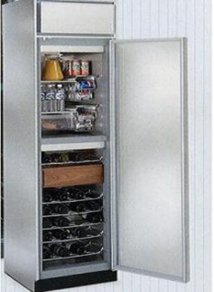 "Northland 24BCSGXR 24"" Built-In Wine Cooler, in Stainless Steel"