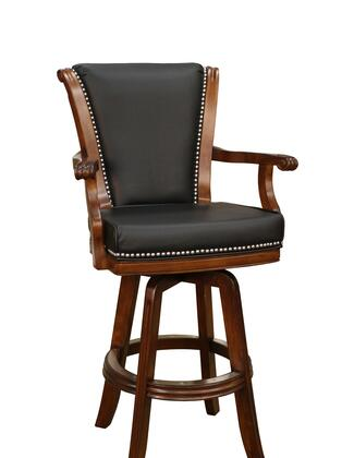 American Heritage 100613SD Napoli Series Residential Leather Upholstered Bar Stool