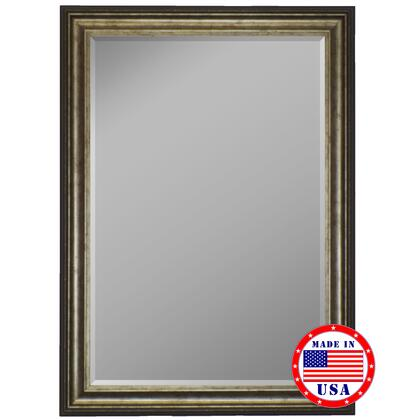 Hitchcock Butterfield 81270X 2nd Look Atlantis Olde Silver Framed Wall Mirror