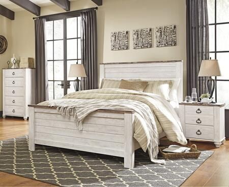 Milo Italia BR397QPBBEDROOMSET Jensen Queen Bedroom Sets