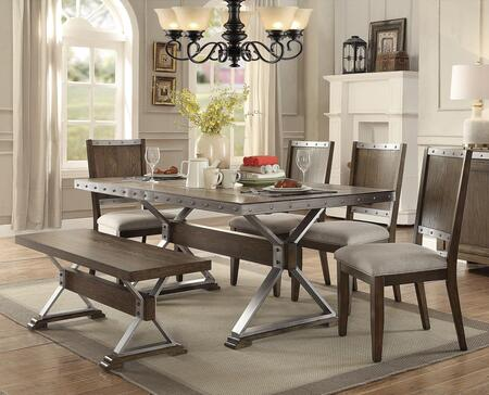 Coaster 107018TBC Beckett Dining Room Sets | Appliances Connection