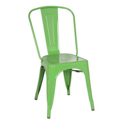 Fine Mod Imports FMI10014GREEN Talix Series  Metal Frame  Patio Chair
