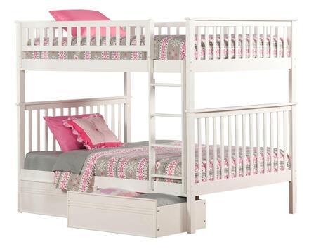 Atlantic Furniture AB56512  Full Size Bunk Bed