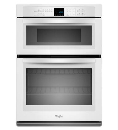 White Oven Microwave Combo Double Wall Zoom In Whirlpool 1 Shown Stainless Steel 2