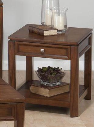 Jofran 8497 Bowie Series Traditional Rectangular End Table