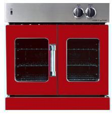 American Range AROFG30BR Single Wall Oven, in Red