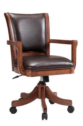 Hillsdale Furniture 4186800 Park View Series Armless Wood Leather Gaming Chair