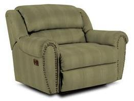 Lane Furniture 21414401332 Summerlin Series Transitional Fabric Wood Frame  Recliners