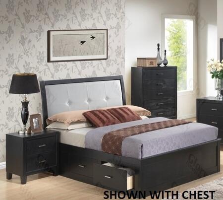 Glory Furniture G1250FFSB2N G1250 Full Bedroom Sets