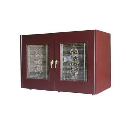 Vinotemp VINO-270ECB 270 Beveled 2 Door Wine Cooler Credenza,