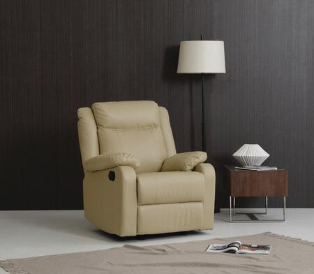 Glory Furniture G764ARC G76 Series Faux Leather  Recliners