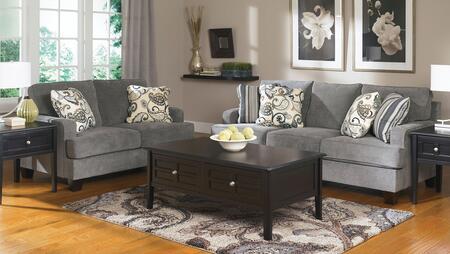 Milo Italia MI4987KIT2PCSTEE Adrienne Living Room Sets