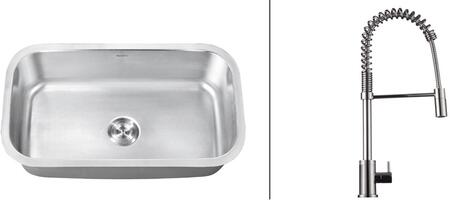 Ruvati RVC2491 Kitchen Sink