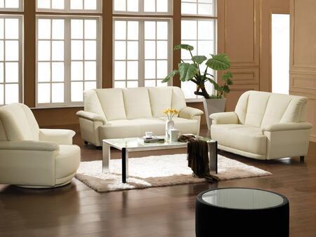 VIG Furniture VGDM2828BL Modern Leather Living Room Set