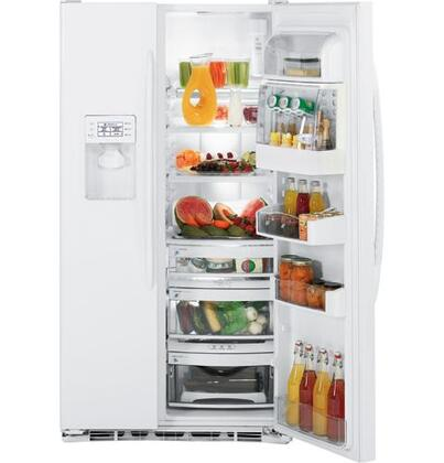 GE PSDF3YGXWW Built In Side by Side Refrigerator
