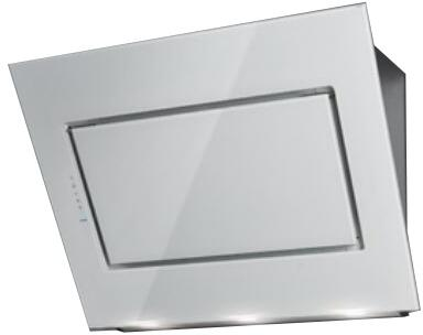"Falmec FDQ 36"" Design Collection Quasar Wall Mount Range Hood with 500 CFM, LED Lighting, Perimeter Aspiration System and Touch Controls in"