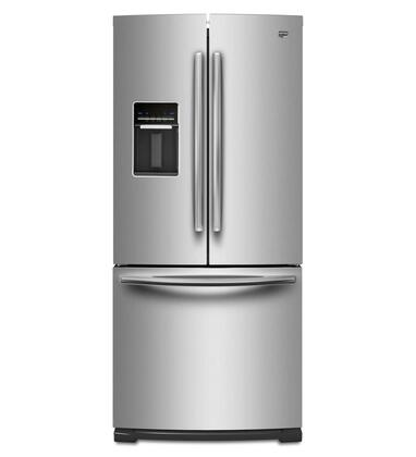 """Maytag MFW2055YEM 30""""  French Door Refrigerator with 19.6 cu. ft. Total Capacity 3 Glass Shelves"""