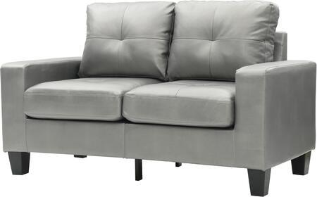 Glory Furniture G466AL Newbury Series Faux Leather Modular Loveseat