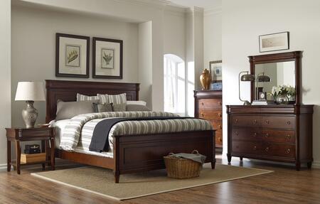Broyhill 4906KPBNTCDM Aryell King Bedroom Sets