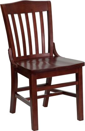 Flash Furniture XUDGW0006MAHGG Hercules Series Contemporary Not Upholstered Wood Frame Dining Room Chair