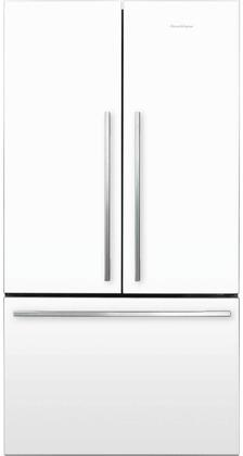 """Fisher Paykel RF201AD5N 36"""" French Door Refrigerator with Counter Depth, Ergonomic, Easy Cleaning, ActiveSmart Foodcare, Adaptive Defrost, Smart Touch Control Panel, and Stackable Bottle Holders, in"""