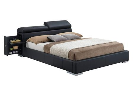 Acme Furniture 20750Q Manjot Series  Queen Size Panel Bed