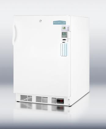 Summit SCFF55LMEDSCADA AccuCold Series  Freezer with 5 cu. ft. Capacity in White