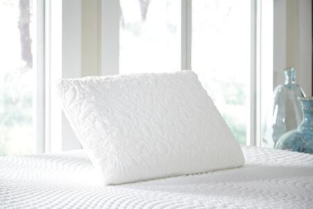 Signature Design by Ashley M8250x Set of 2 X Size Latex Pillow with Ventilated Synthetic and Traditional Style in White