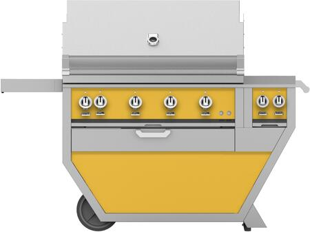 60 in. Deluxe Grill with Side Burner   Sol