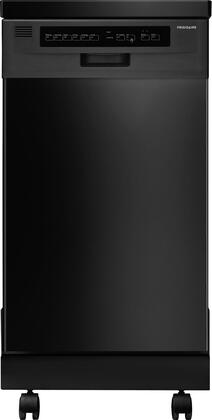 "Frigidaire FFPD1821M 18"" Fully Integrated Portable Dishwasher with 6 Wash Cycles, China/Crystal Cycle, Stainless Steel Interior, Delay Start, Energy Saver Dry Option, Ready-Select Controls and Energy Star in"
