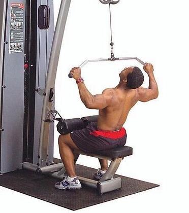 Body Solid DLA Pro Dual Lat Mid Row Component for DGYM