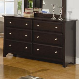 Coaster 400753 Jasper Series Wood Dresser