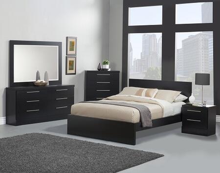 Sandberg 342H Diamante Bedroom Sets