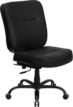 "Flash Furniture WL735SYGBKLEAGG 27"" Contemporary Office Chair"