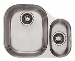 Franke CPX1 Compact Series Undermount Double Bowl Sink in Stainless Steel