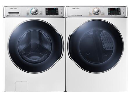 Samsung Appliance SAM2PCFL30GWKIT1 9100 Washer and Dryer Com