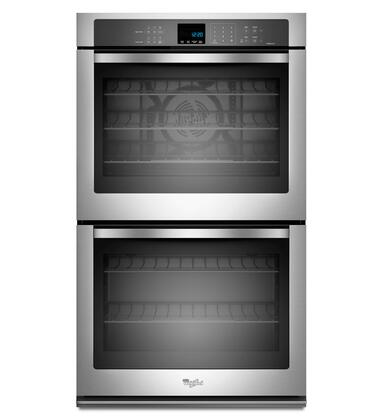 "Whirlpool WOD93EC7AS 27"" Double Wall Oven"