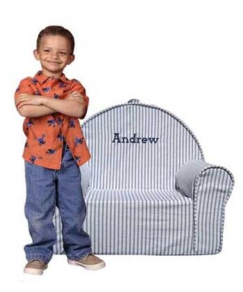 Fun Furnishings 6025XP My First Chair with X - Personalized