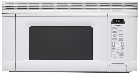 Sharp R1406T 1.4 cu. ft. Capacity Over the Range Microwave Oven