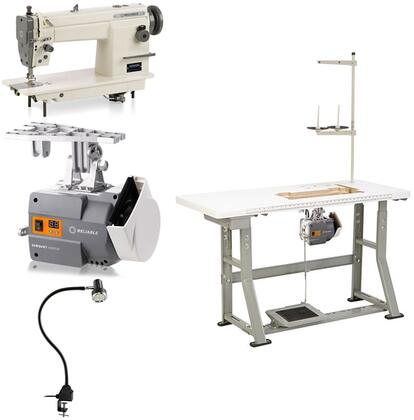 Reliable 3200xN x Needle LockStitch, Needle Feed Sewing Machine with 5000 RPM