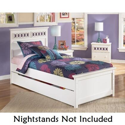 Milo Italia BR20549757880FRS Mendoza Series  Full Size Panel Bed