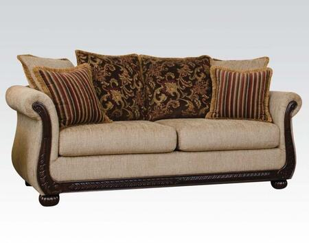 Acme Furniture 52360 Rachell Series  Fabric Sofa